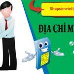 Địa chỉ bán sim tứ quý trả góp uy tín tại Hà Nội