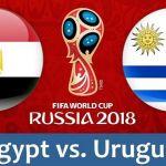 Xem trực tiếp link sopcast Ai Cập vs Uruguay 19h ngày 15/6 trên VTV6